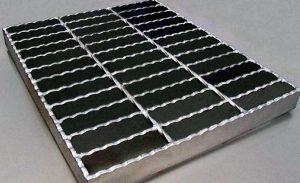 Jual Steel Grating Ukuran Custom Hotdip Galvanis Bergerigi