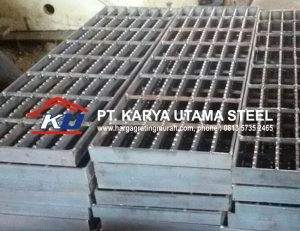 Jual Steel Grating Galvanis Hotdeep Ready Stock Ukuran Standart