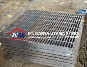 Jual Grating Plate Murah Ready Stock Type Open End