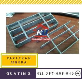 Supplier Besi Penutup Saluran Air Grating Steel Galvanis Hotdeep Ukuran Umum