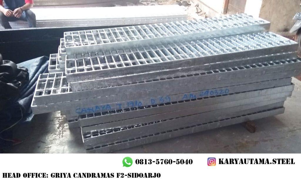 Steel Grating Hotdip Galvanis Surabaya Murah